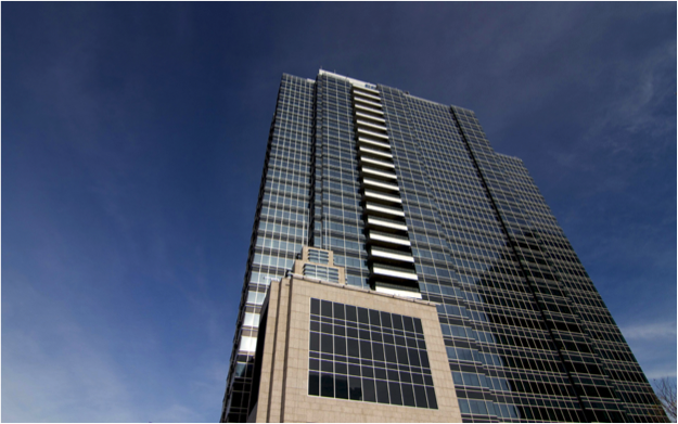 Photo of the exterior of Epcor Tower